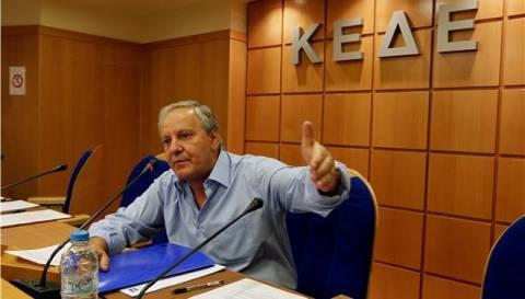 ΚΕΔΕ: Στη σφαίρα του γραφικού οι δηλώσεις Ρακιντζή