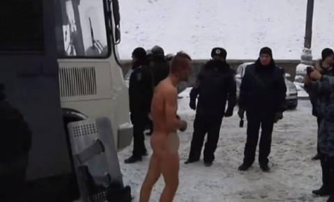«Συγνώμη» από τις Ουκρανικές αρχές για τον εξευτελισμό διαδηλωτή