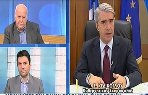 Κεδίκογλου: Καμία κόντρα μεταξύ των υπουργείων (vid)