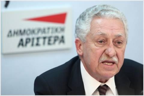 Φ. Κουβέλης: Οι ευρωεκλογές να στείλουν μήνυμα αλλαγής πολιτικής