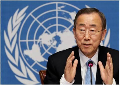 Μπαν κι Μουν για Κυπριακό: Eπιδιώκουμε το διεθνές ενδιαφέρον