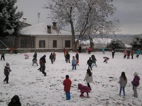 Κλειστά τα σχολεία στις Σέρρες