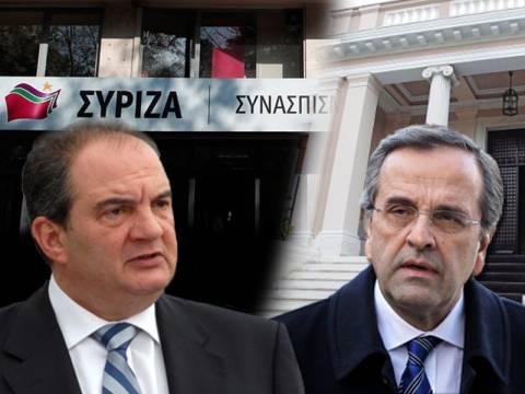 Το σενάριο του «μεγάλου συνασπισμού ΝΔ-ΣΥΡΙΖΑ» ανησυχεί το Μαξίμου