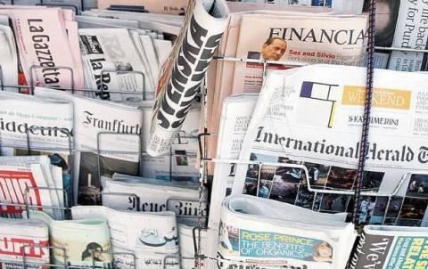 Πτώση στις κυκλοφορίες των εφημερίδων για το 2013