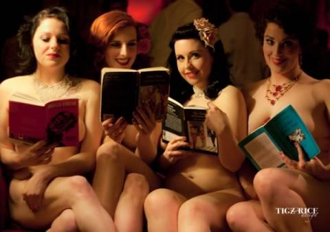 Γυμνές γυναίκες ...σε προκαλούν να διαβάσεις!