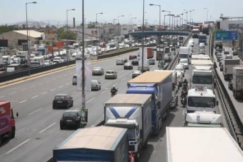 Τροχαία ατυχήματα στην Αθηνών Λαμίας-Αυξημένη η κίνηση