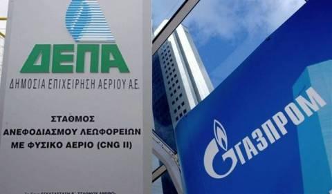 Σε εξέλιξη οι διαπραγματεύσεις της ΔΕΠΑ με τη ρωσική Gazprom