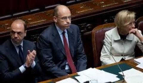 Ιταλία: Πτώση στη δημοτικότητα της κυβέρνησης Λέτα