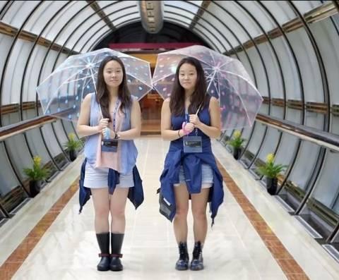 Δίδυμες αδερφές ξαναβρέθηκαν  χάρη στο... You Tube! (vid)
