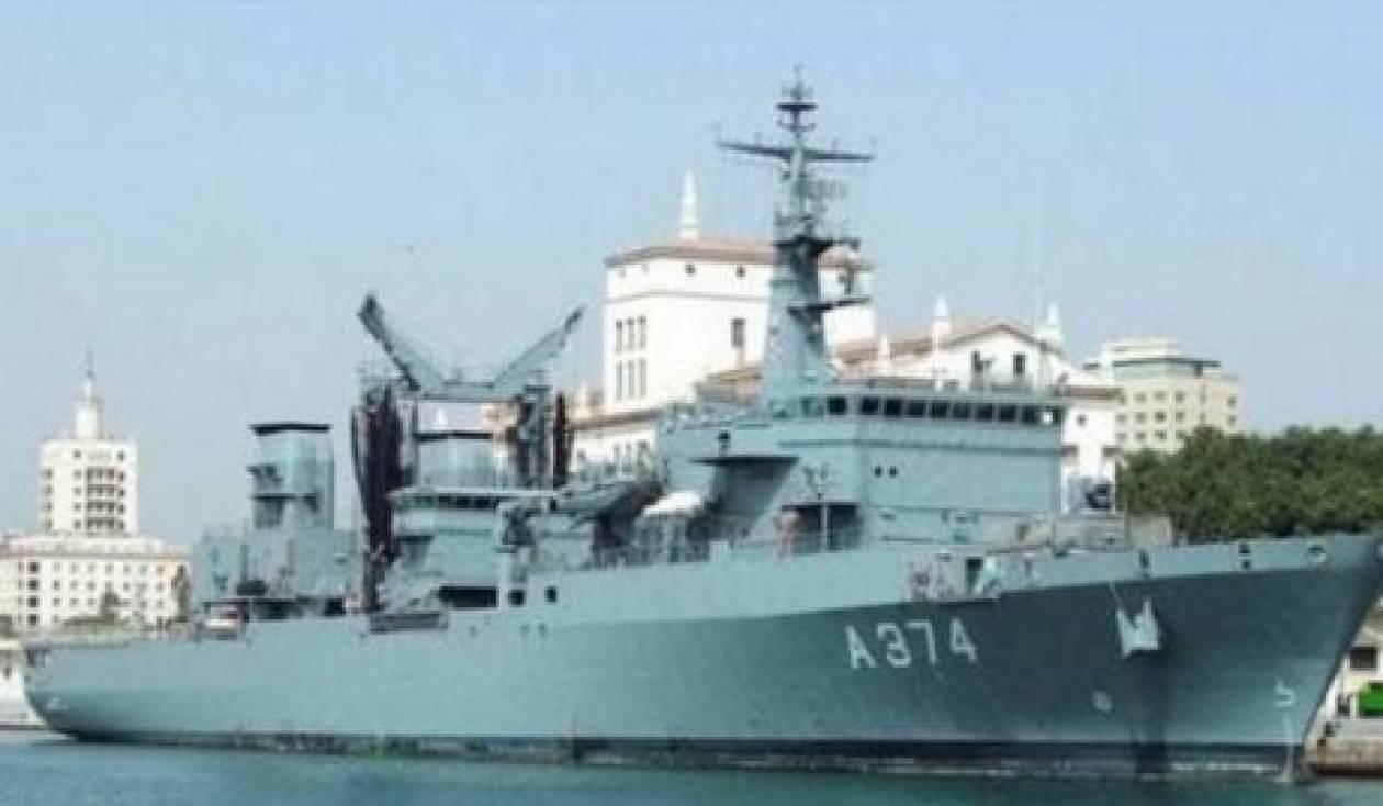 Δύο πλοία του Ναυτικού στην Κεφαλλονιά