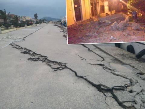Στους δρόμους οι κάτοικοι της Κεφαλονιάς από το νέο σεισμό