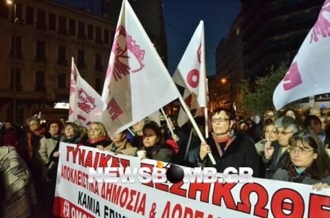 ΠΑΜΕ: Συλλαλητήρια ενάντια στο νομοσχέδιο για την ΠΦΥ  (pics)