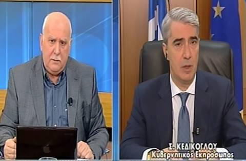 Κεδίκογλου: Οι υπουργοί δεν πάνε για πασαρέλα στην Κεφαλονιά