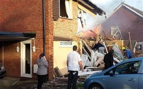 Βρετανία: Ισχυρή έκρηξη με 10 τραυματίες