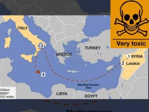 Πιέσεις Υπ.Εξ. για την προστασία της Μεσογείου από τα χημικά του Άσαντ