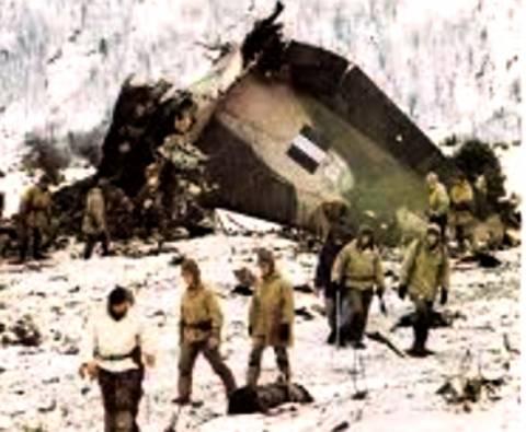 Επιμνημόσυνη δέηση για τους 63 πεσόντες της Π.Α. στο όρος Όθρυς