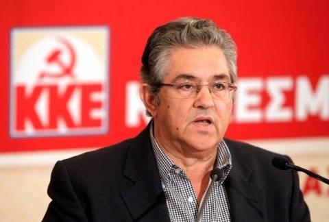 Μήνυμα συμπόρευσης και συστράτευσης με το ΚΚΕ απηύθυνε ο Κουτσούμπας