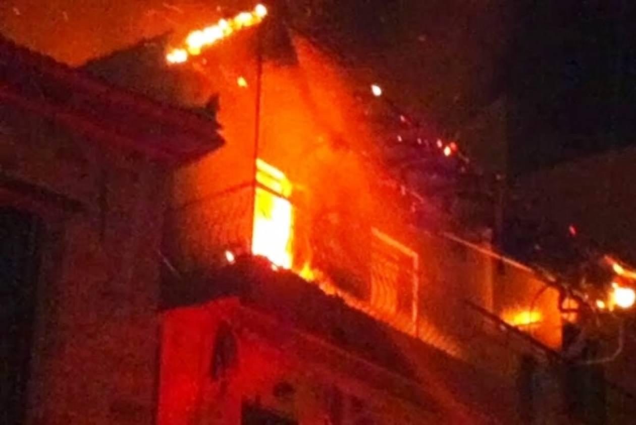 Στις φλόγες διαμέρισμα στο Χαϊδάρι