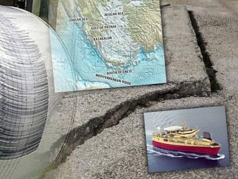 «Ξυπνούν» ρήγματα στο Ιόνιο οι τεχνητοί σεισμοί;