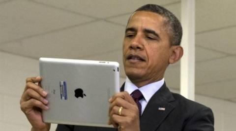 Ποιος θα κάνει μαθήματα ipad στον Ομπάμα;