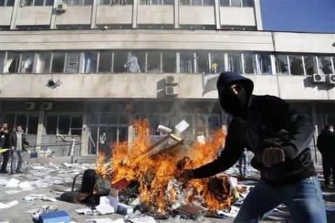 Βοσνία: Στις φλόγες το κτίριο της προεδρίας στο Σαράγεβο