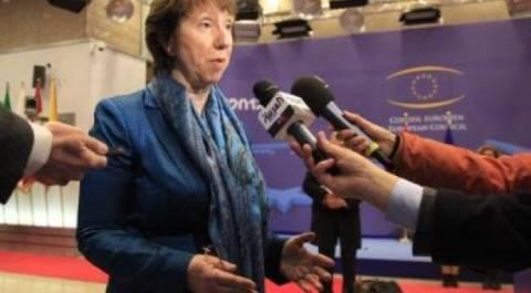 Συνάντηση Άστον-Νταβούτογλου στις Βρυξέλλες