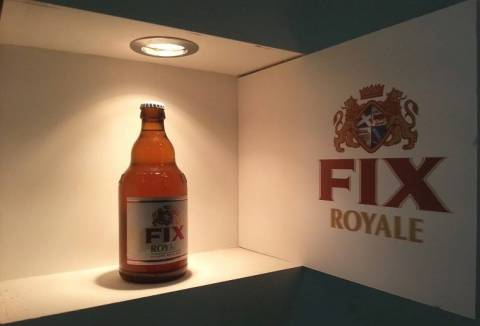 FIX Royale: Η νέα ελληνική weiss μπύρα στη φετινή HO.RE.CA.