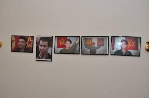 Φωτογραφίες από τη γιάφκα των Τούρκων στου Γκύζη