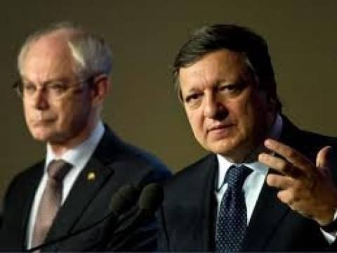 Μπαρόζο-Ρομπάι: H Κομισιόν στηρίζει τις διαπραγματεύσεις