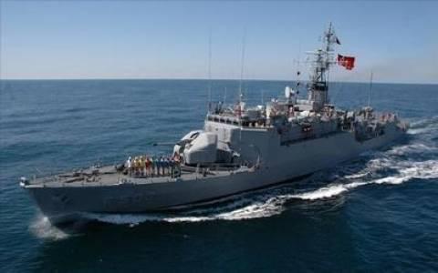 Στα χωρικά μας ύδατα τουρκικό πολεμικό πλοίο