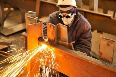 Eurostat:Αύξηση της βιομηχανικής παραγωγής στην Ελλάδα τον Δεκέμβριο