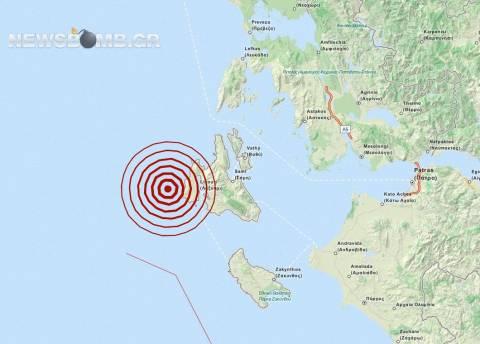 Σεισμός 3,5 Ρίχτερ στην Κεφαλονιά