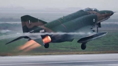 Εκτός πίστας βρέθηκε από βλάβη αεροσκάφος RF-4E της ΠΑ