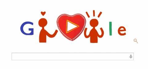 Ημέρα του Αγίου Βαλεντίνου: Δείτε τι κάνει το doodle της Google
