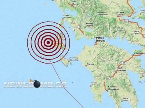 4.7 Richter earthquake in Kefalonia