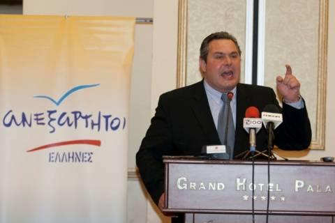 Καμμένος για Μπουτάρη: Δεν αξίζει στη Θεσσαλονίκη τέτοιος δήμαρχος