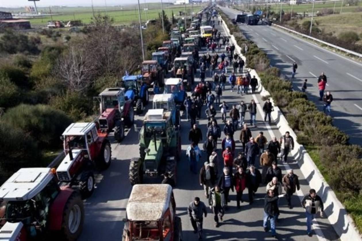 Συγκεντρώσεις αγροτών σε Μακεδονία και Θράκη