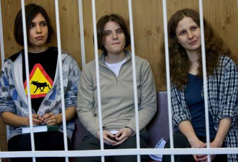 Συνελήφθησαν και πάλι οι δύο Pussy Riot στο Σότσι