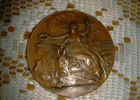 Βρέθηκε σπάνιο μετάλλιο της Μεσολυμπιάδας της Αθήνας του 1906!