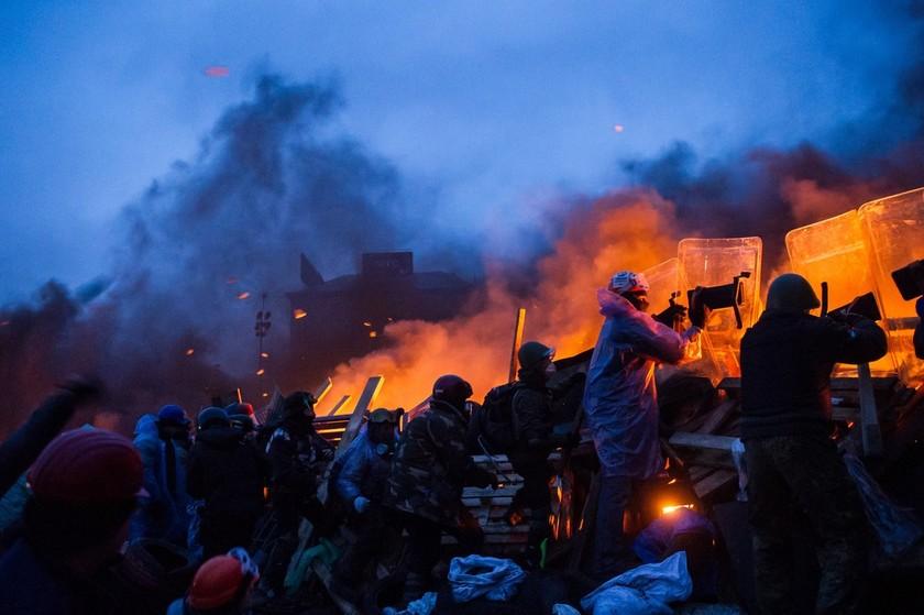 Κίεβο: Κοντά σε συμφωνία (;) μετά την χθεσινή κόλαση (pics)