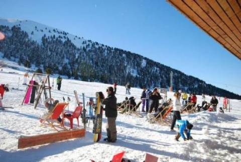 Which ski resorts are open in Greece?