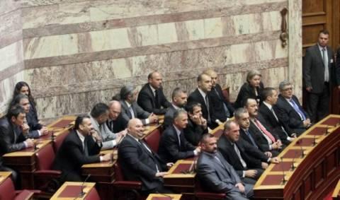 Στη Βουλή το αίτημα για άρση ασυλίας των βουλευτών της Χρυσής Αυγής
