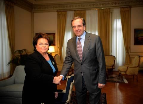 Την επιστροφή της στη ΝΔ ανακοίνωσε η Νίκη Τζαβέλλα