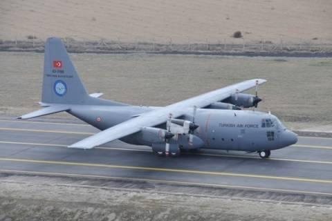 Με αεροσκάφη C-130 ενισχύθηκαν οι Τουρκικές Ένοπλες Δυνάμεις