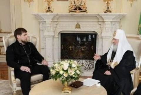 Συνάντηση Πατριάρχη Μόσχας με τον πρόεδρο της Τσετσενίας