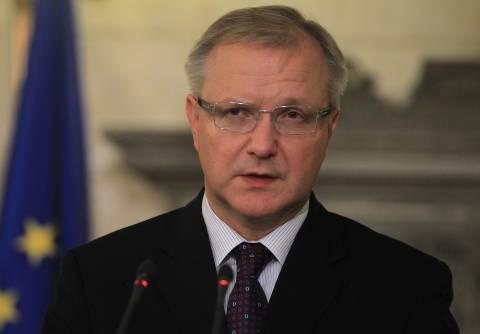 Ρεν: Η Ελλάδα πέτυχε πολλά σε δημοσιονομικά και μεταρρυθμίσεις