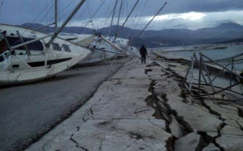 Kefalonia: Earthquake moved Paliki 20cm