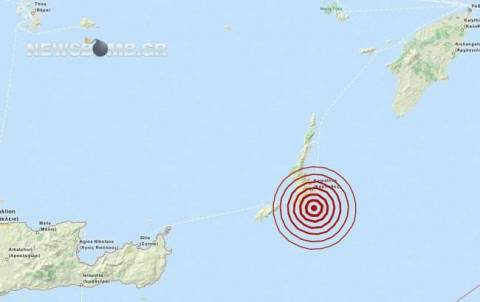 Earthquake in Karpathos