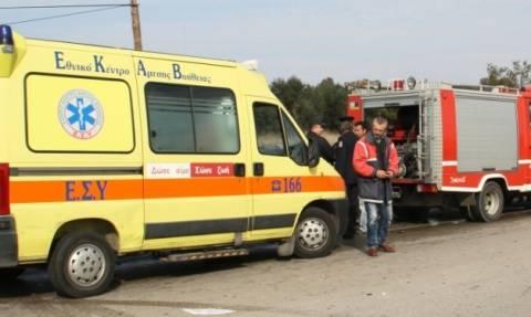 Τραυματίστηκε ο Μητροπολίτης Γρεβενών σε τροχαίο