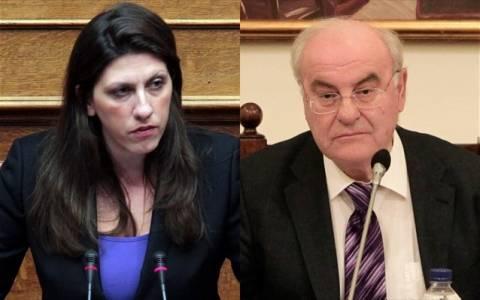 Άγριος καυγάς Νεράντζη-Κωνσταντοπούλου στη Βουλή - Όλοι οι διάλογοι